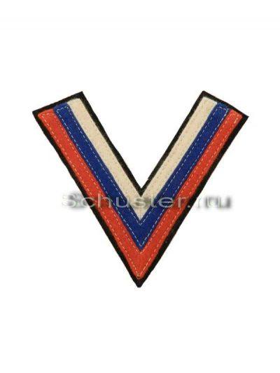 Chevron volunteer army obr. 1 (Шеврон добровольческой армии обр. 1)-01