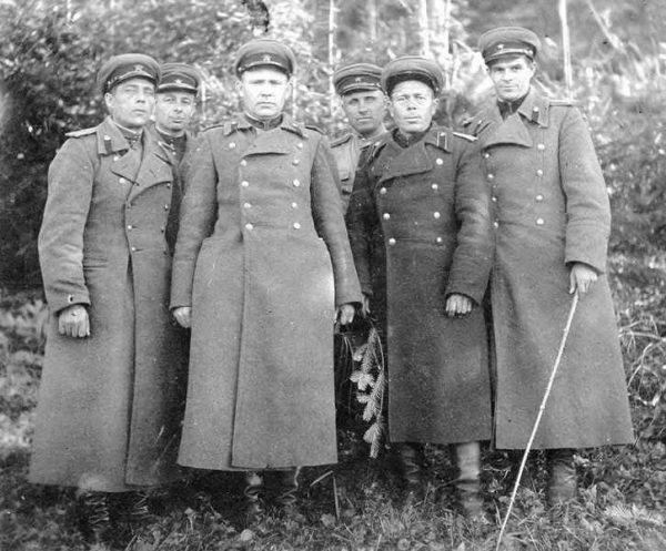 Greatcoat M1937 for Officers NKVD (Шинель комначсостава НКВД обр. 1937 г. ) M3-043-U