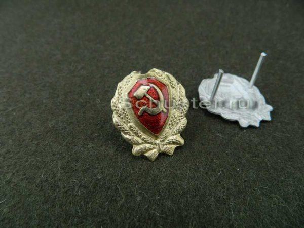 Cockade managerial personnel militia M 1923 (Значек на головные уборы старшего начсостава РКМ обр. 1923 г. )-01