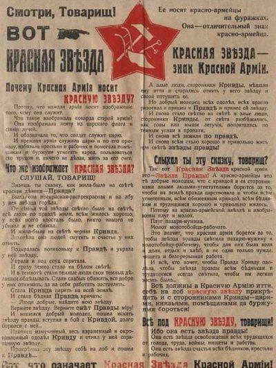 M1918 STAR COCKADE TO MILITARY HEADGEAR (Звезда обр. 1918 г. к головным уборам военнослужащих)-02
