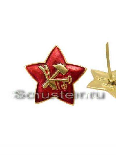 M1918 STAR COCKADE TO MILITARY HEADGEAR (Звезда обр. 1918 г. к головным уборам военнослужащих)-01