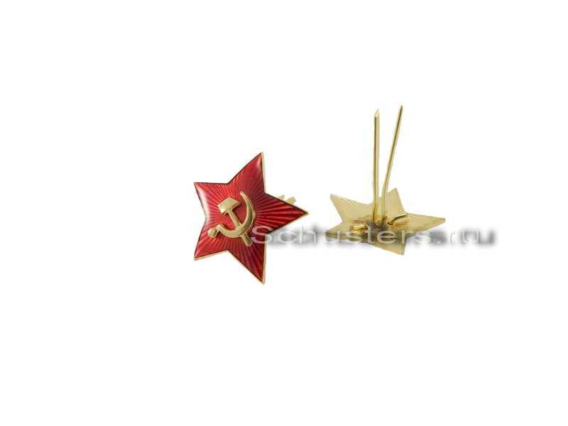 Производство и продажа Звезда обр. 1936 г. к головным уборам (34 мм) M3-018-F с доставкой по всему миру