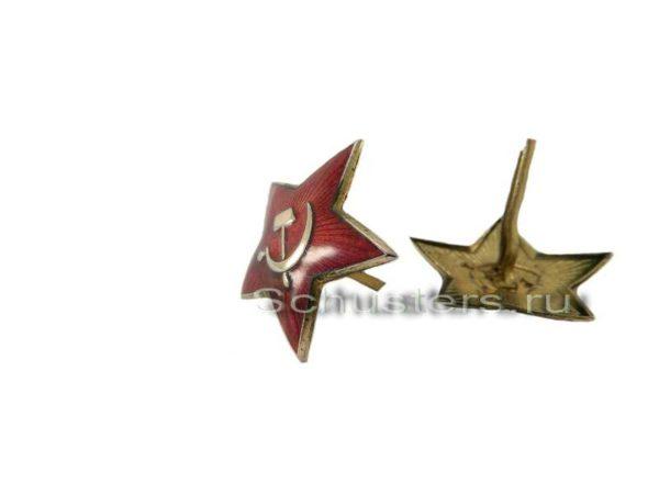 M1939 STAR COCKADE FOR HEADGEAR (34 mm) (Звезда обр. 1939 г. к головным уборам (34 мм))-02