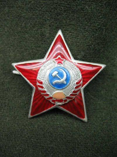 Производство и продажа Звезда обр. 1939 г. к головным уборам рядового и младшего начсостава милиции M3-019-F с доставкой по всему миру