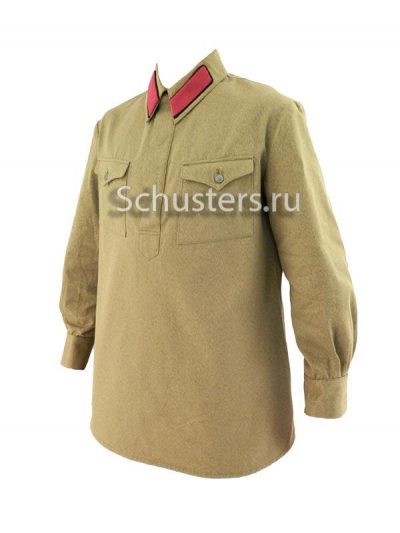 Производство и продажа Гимнастерка (рубаха хлопчатобумажная) для рядового состава обр. 1935 г. M3-010-U с доставкой по всему миру