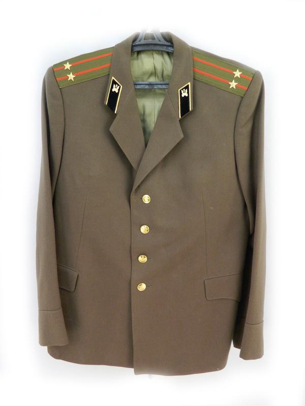 Производство и продажа Китель офицерский повседневный автомобильные войска СССР (распродажа) Распродажа с доставкой по всему миру