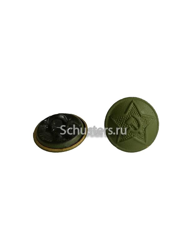 Пуговица (цвет хаки) форменная для погон и петлиц личного состава обр.1943 г. M3-011-Fa