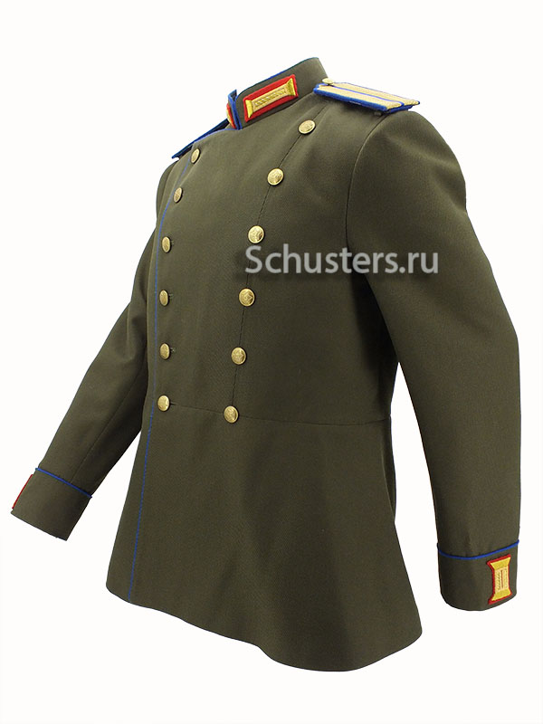 Manufacturing and selling Parade jacket for officer of the internal troops m43 (Парадный мундир офицера Внутренних войск. Обр. 43 года) M3-147-U production with worldwide delivery